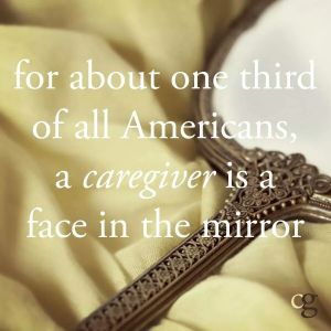 Caregiver in the mirror