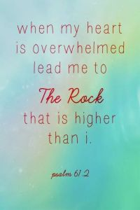 lead me to the rock psalm 61 2
