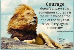 Lion  Quiet Courage