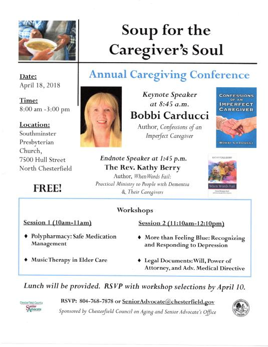Chaterfield VA Keynote Flyer April 2018